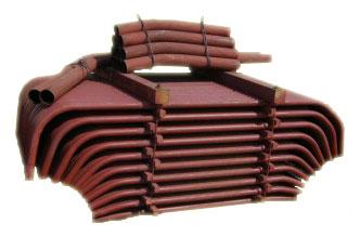 Ремкомплекты к котлам ДКВр, ДЕ, КЕ ремонтные комплекты кипятильных и экранных труб